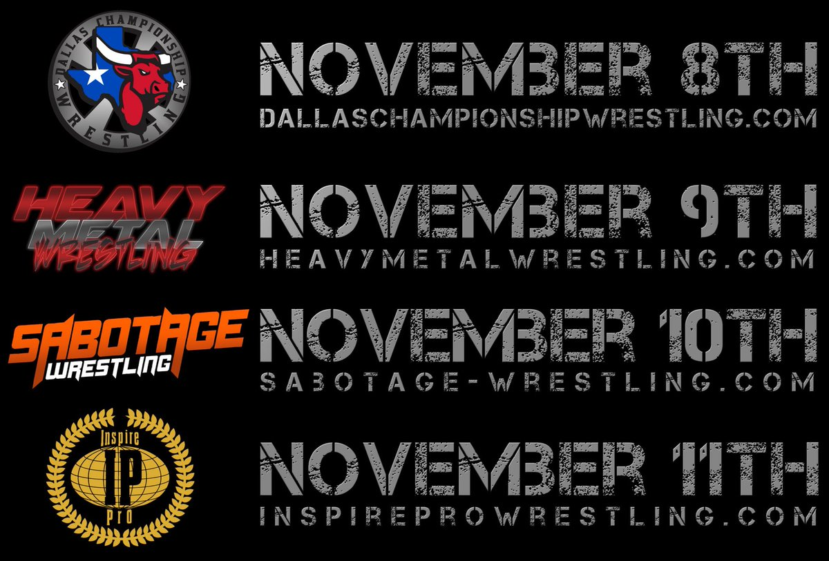 BIG weekend shaping up in Texas in November!<br>http://pic.twitter.com/as2qg0JMTg