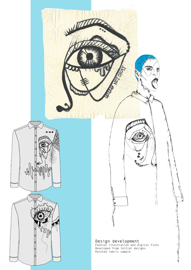 Ragged Cult Magazine On Twitter Interview With The Extremely Talented Designer Lucyosborneex Of Up And Coming Conceptual Brand Devil S Car Crash Talligat0or Link Https T Co Sx368r2hgs Art Artist Illustration Fashion Designer Ual
