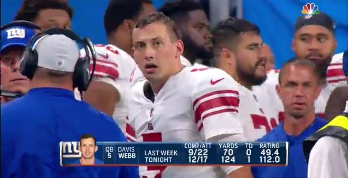 Davis Webb's mouth breather face will let us down slowly when Eli Manning retires <br>http://pic.twitter.com/zSYkUGOolM