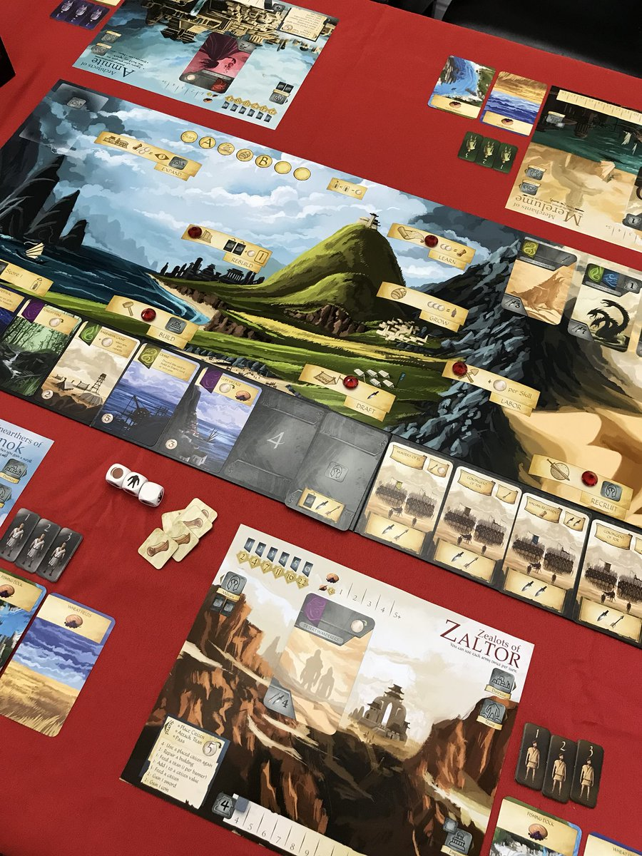Ancient World (2nd Edition) prototype. <br>http://pic.twitter.com/HnZ3eo0XF7
