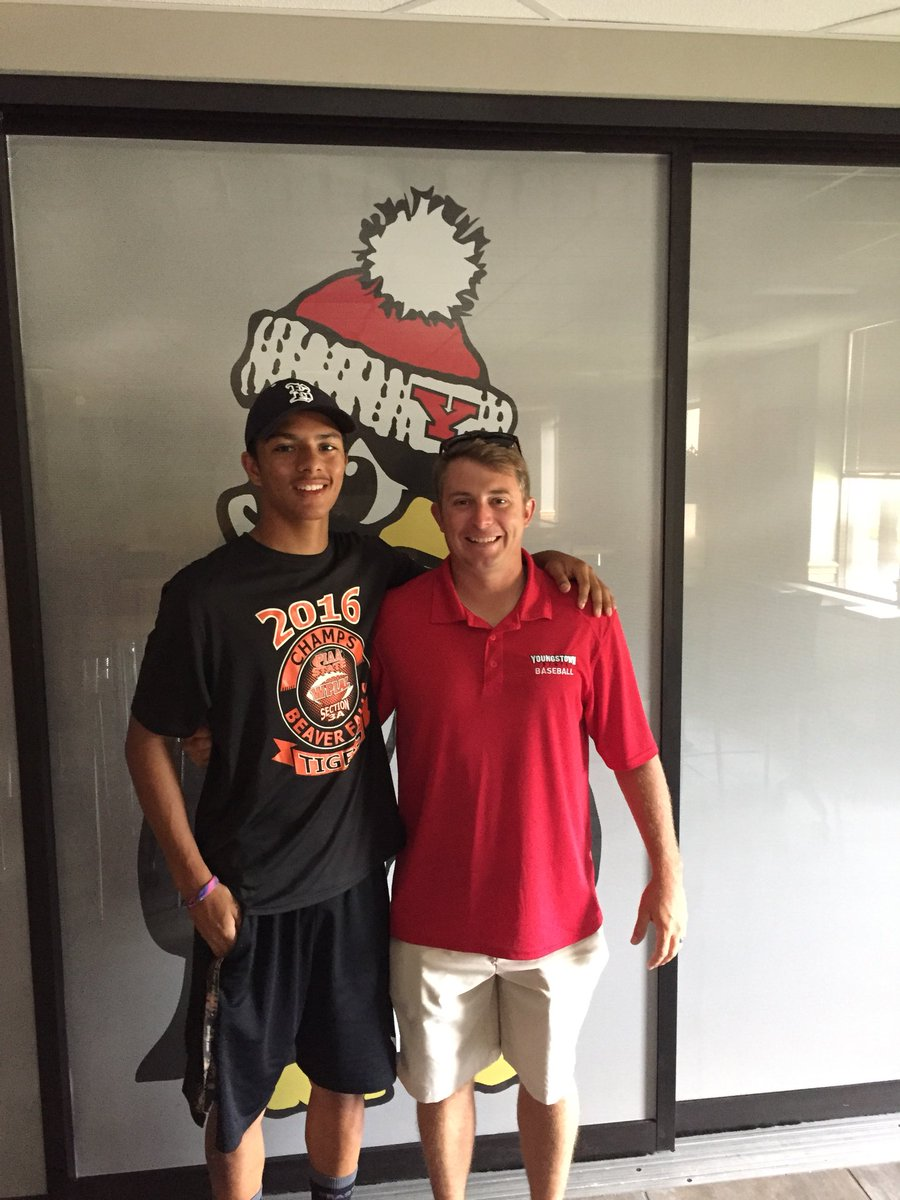 I would like to announce my commitment to Youngstown State University! I will accept a baseball scholarship and I also intend on playing football for YSU as well!! Thank you to everyone who has had a hand in helping to achieve my dreams! @CoachBertolini @esmitty29 <br>http://pic.twitter.com/0DUWGNkxTk