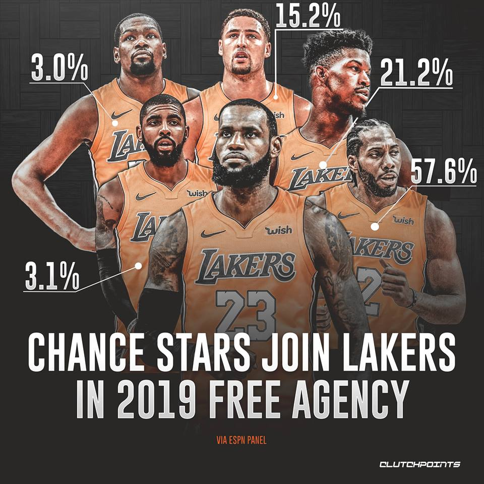 LeBron James was just the first of many dominos that are going to fall for us here in LA.  <br>http://pic.twitter.com/y9govUfAyn