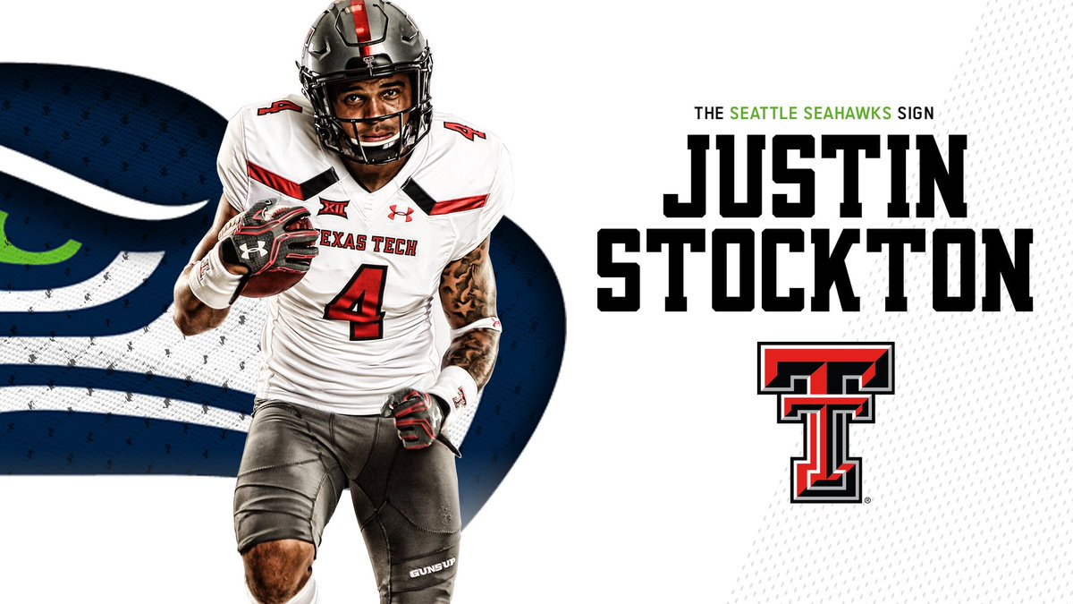 Congrats on signing the dotted line with the @Seahawks, @Justinstockto16! #RedRaidersInTheNFL   #WreckEm<br>http://pic.twitter.com/SDTlX1OdM9