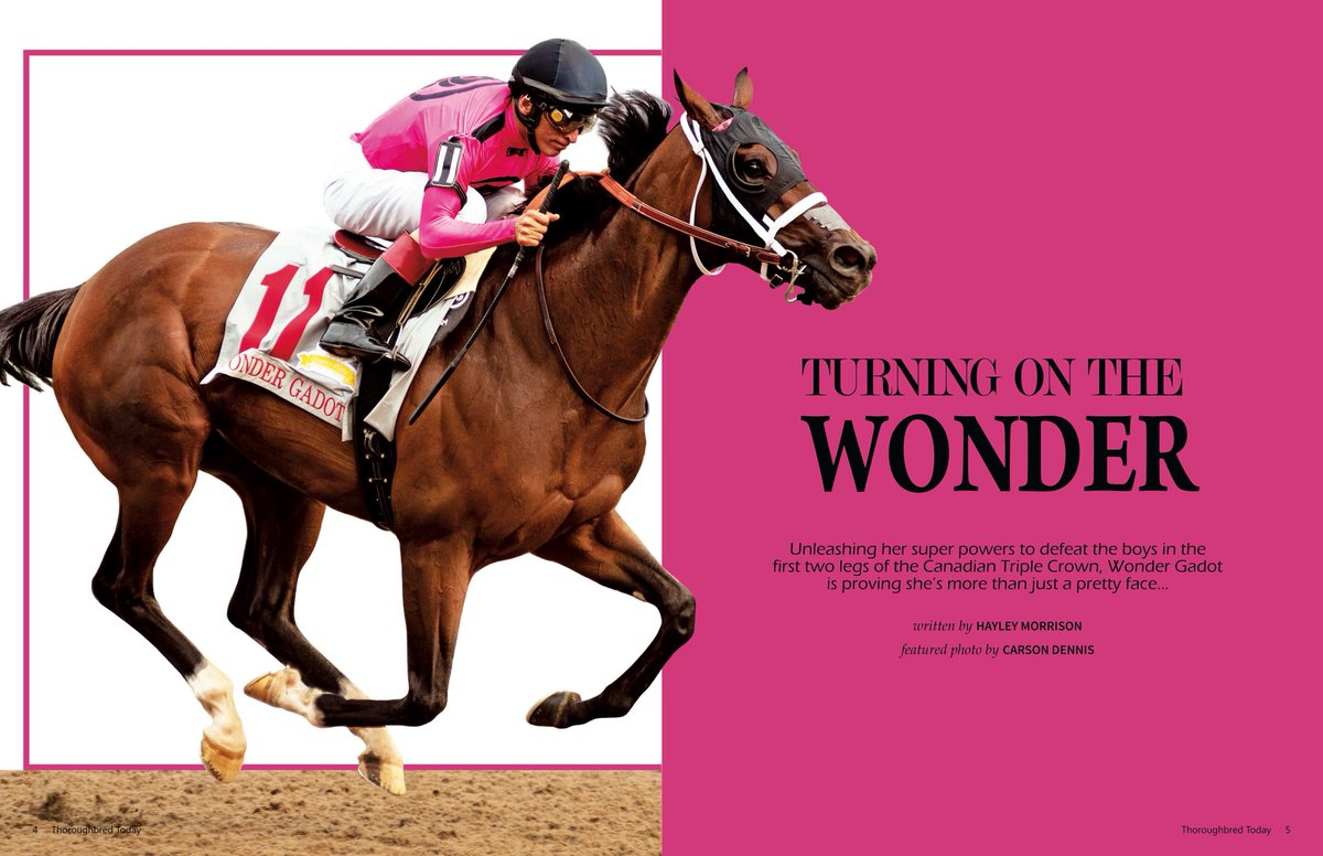 WONDER GADOT: trainer Mark Casse and connections closest to the super filly recall her journey to the Queen's Plate and share what it's been like to witness her rise to stardom —&gt;  http:// bit.ly/2OJ5Kf9  &nbsp;   <br>http://pic.twitter.com/ukInNHWf5n