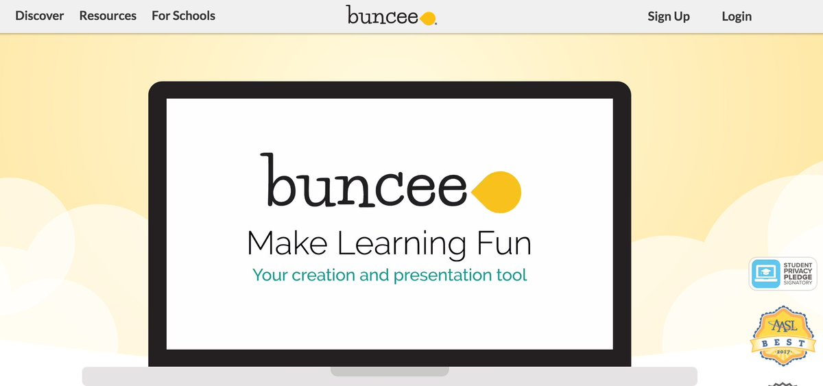 Using @Buncee is a great way to present information and more. An example: goo.gl/uhX731