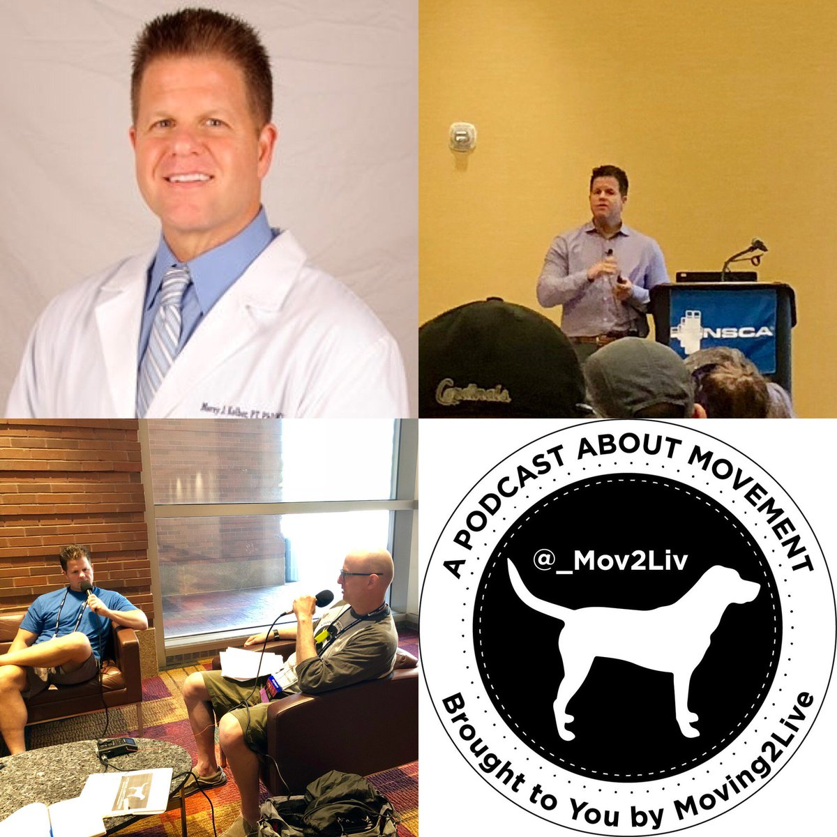 ICYMI: latest #Moving2Live #podcast features @reutebh talking w/ @MoreyJKolberPT about how to keep people moving, training the next generation #physicaltherapist &amp; more!  #orthopaedic #nsca #cscs #mckenziemethod #FitLabPGH #novasoutheasternuniversity    http:// bit.ly/M2LMoreyKolber part1 &nbsp; … <br>http://pic.twitter.com/QYlZEJc40q
