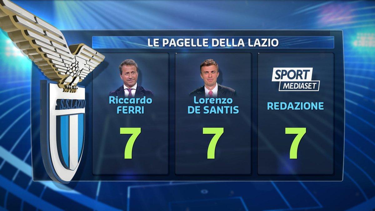 #calciomercatotgcom24Ecco le pagelle della redazione di #SportMediaset, di #RiccardoFerri e di #LorenzoDeSantis sul #mercato della #Lazio. Siete d\