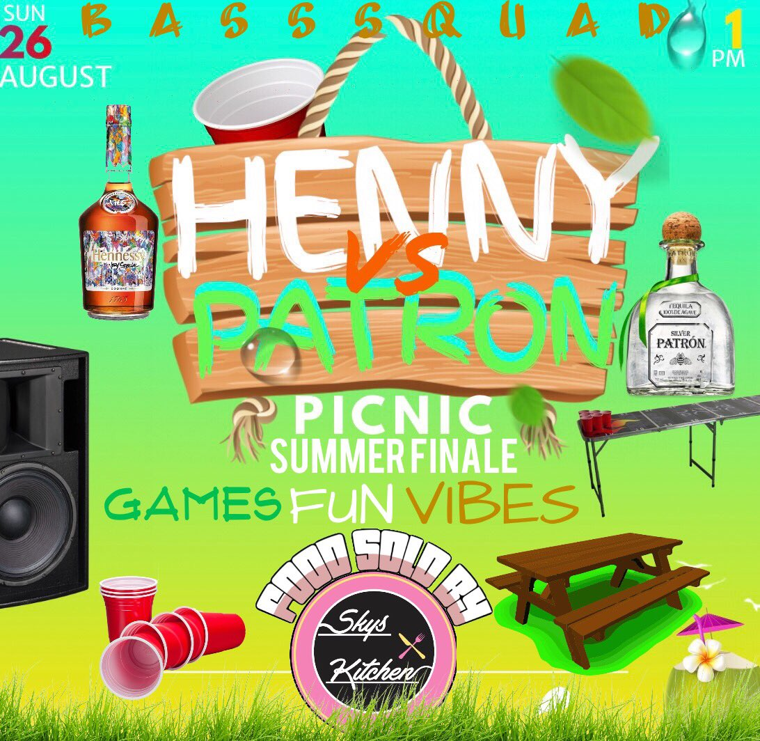 AWW SHIT THIS LAST ONE OF THE SUMMER I NEED ALL MY HENNY AND PATRON DRINKERS HERE READY TO GET FUCKED UP ILL BRING THE MOL...NVM PULL UP WE GOING DUMB <br>http://pic.twitter.com/mPT3tvScq4