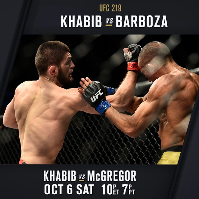 One of the most dominant performances weve ever seen @TeamKhabib destroys Barboza to earn his first title shot 👀 #UFC229