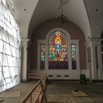 Image for the Tweet beginning: St James Church Renovation picture.