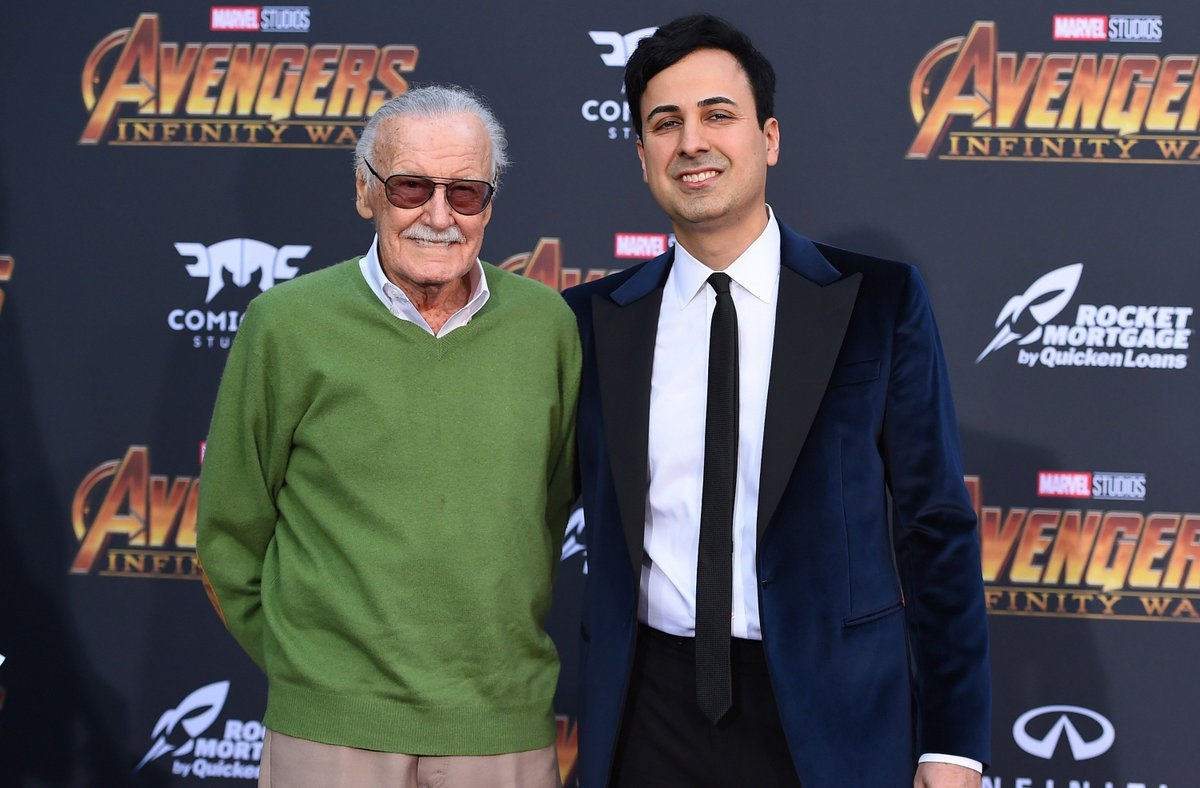 Marvel Comics writer Stan Lee won a restraining order against an ex-adviser his lawyers accuse of embezzlement and elder abuse. Keya Morgan also faces charges for calling the police when a social worker came to check on Lee. <br>http://pic.twitter.com/TLyqmu3u8r
