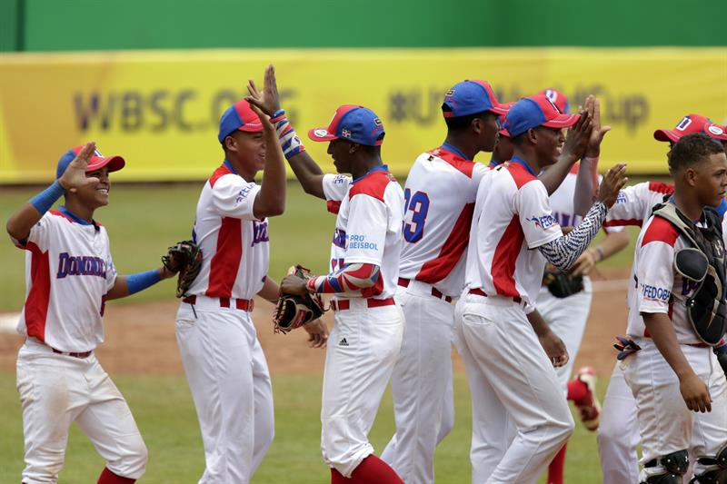 Image result for Dominicana derrota 4-3 a China Taipei béisbol U-15