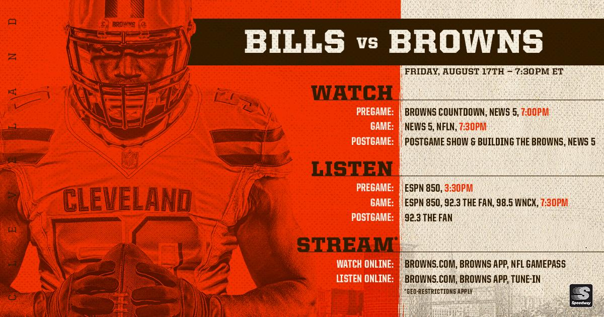 Everything you need to know about tonight's game  How to watch » https://t.co/gKVvJKQsTV  #BUFvsCLE