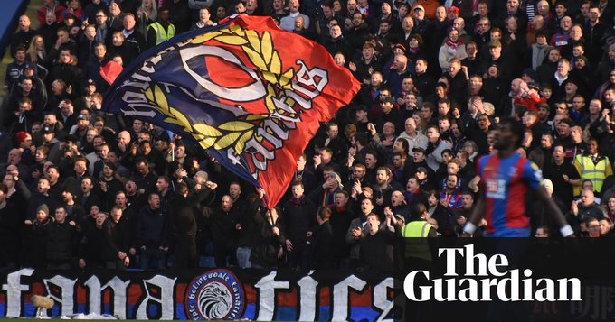 Roy Hodgson: loss of Holmesdale Fanatics will not affect Crystal Palace #CrystalPalace Photo