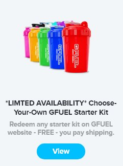 ALERT    Another @GFuelEnergy Airdrop is inbound!  100 people will receive a free #GFUEL Starter Kit!  Keep an eye out on your SLIVER inventories from 3-3:30pm PST  Catch the GFUEL Stream to watch all the action   http:// GFUEL.SLIVER.TV  &nbsp;  <br>http://pic.twitter.com/KaTWNemHGC