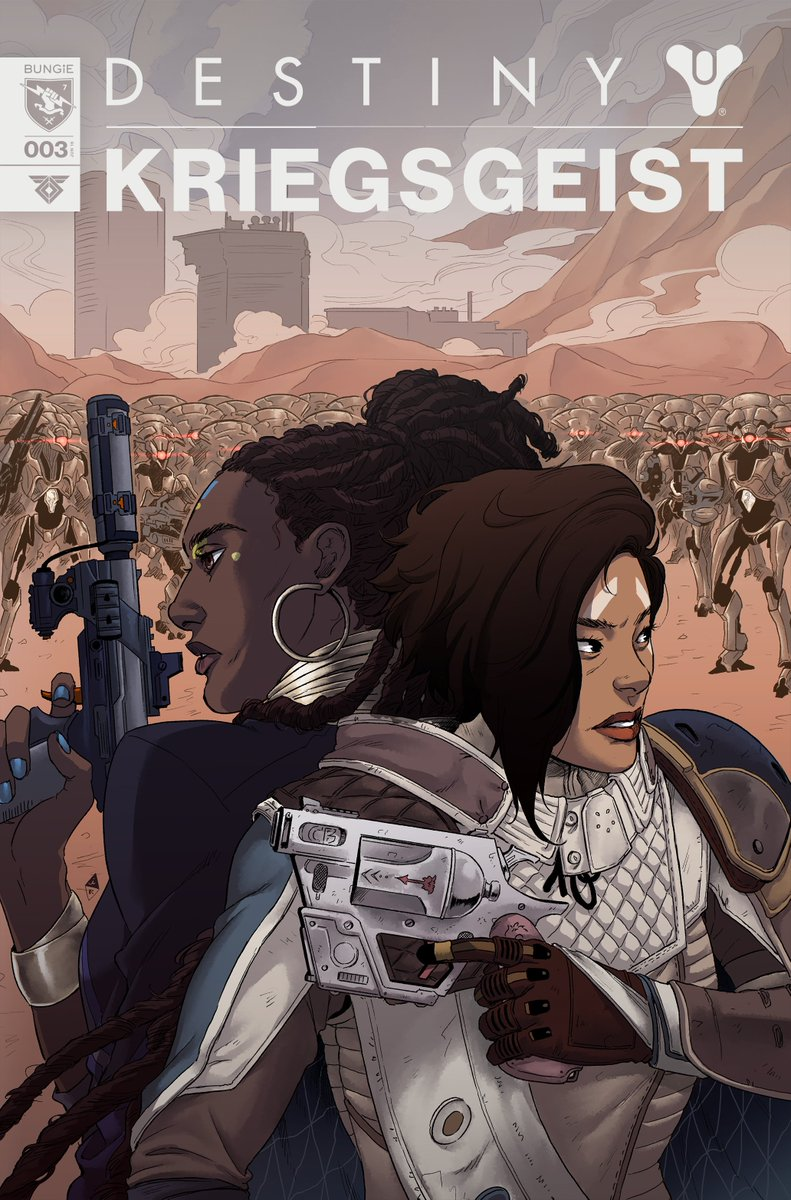 Episode 3 of the Warmind webcomic is now localized. You can change the language in the top right corner of comics.bungie.net.