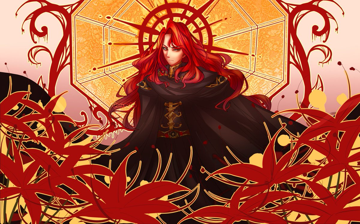 arvis for @fecompendium&#39;s challenge this week hes probably not as underappreciated anymore but the fandom tends to reduce him to just memes when hes so much more than that, and, in my opinion one of the best antagonists in fe also i just wanted an excuse to draw arvis lol <br>http://pic.twitter.com/YkFN5CWuWg