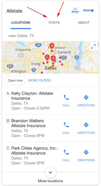 Very interesting --&gt; Google Posts added to local packs for some branded queries  https:// selnd.com/2L3eY3Q  &nbsp;   #SEo #LocalSEO <br>http://pic.twitter.com/HsEUb6lv7H