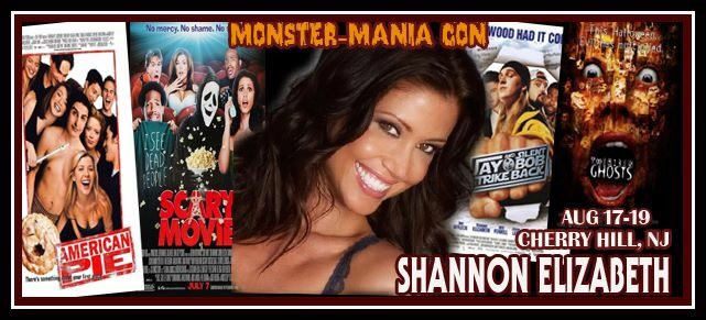 I'm @MonsterManiaCon in Cherry Hill, NJ all weekend long with @PrimeTimeAppea! Come say hi! #MonsterMania