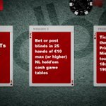 Image for the Tweet beginning: Too hot to sleep?  Today's #poker