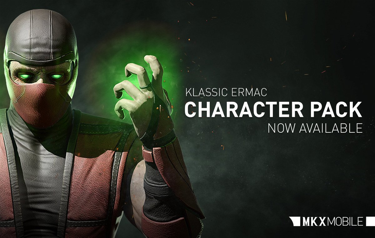 You know not of what you speak. Be among the first to unlock Klassic Ermac before his upcoming Challenge in #MKXMobile!