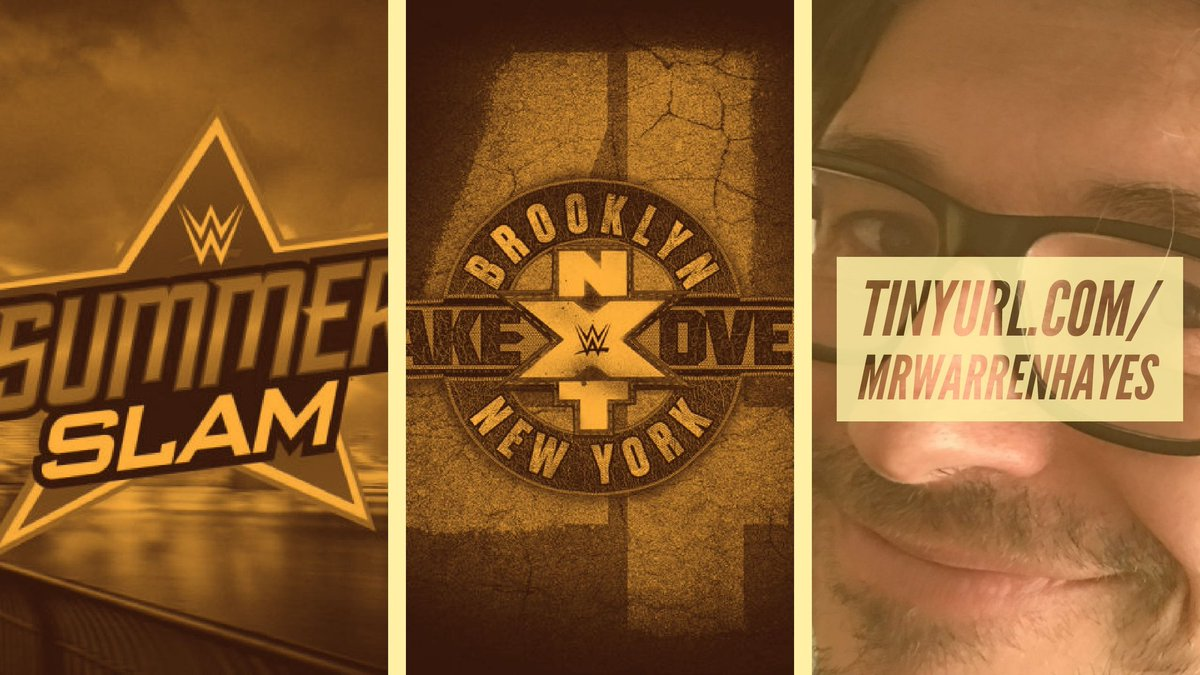 Hey there TL!  IT&#39;S PREDICTION SEASON!  I got me a beautiful pair of #WWE PPV prediction shows over at my YouTube channel.    SUMMERSLAM 2018  https:// youtu.be/LUWqNMqhShI  &nbsp;    NXT TAKEOVER BROOKLYN 4  https:// youtu.be/fVp-mZrwtAw  &nbsp;   (recorded with @podcast_uf!)  Give em a listen!<br>http://pic.twitter.com/Hh6v2oXNjy