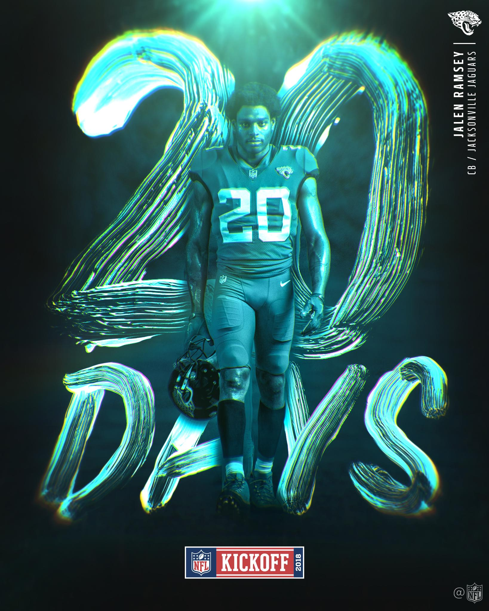 20 DAYS! #Kickoff2018 https://t.co/NZl9KT1iU7