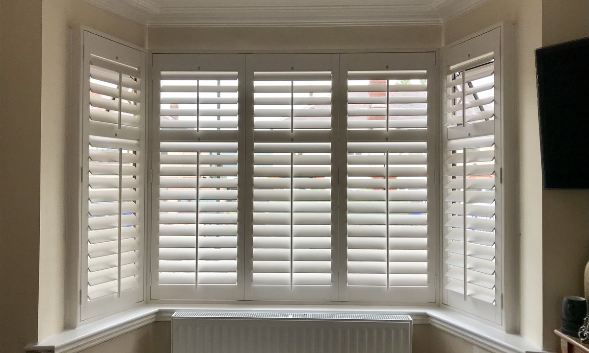 Shutters By Ian On Twitter A Nice Bay Window Shutter