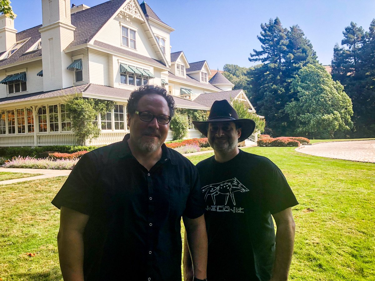 Enjoying a day at the Ranch with @dave_filoni