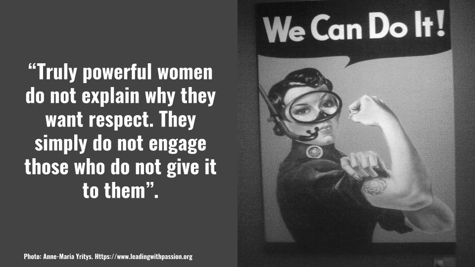 What makes a woman truly powerful?  http:// bit.ly/EMPOWERMENT888  &nbsp;    Please comment! #genderequality  #feminism #metoo <br>http://pic.twitter.com/sUqO7aeKqY