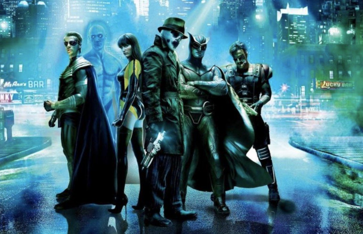 HBO's first superhero series, Watchmen, is coming to HBO next year https://t.co/wE8DBUJ0BW