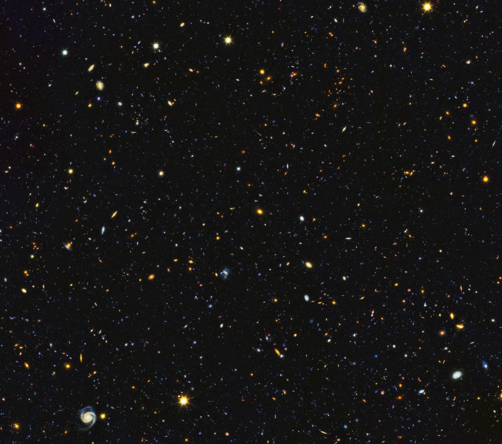 This picture has 15,000 galaxies in it. You read that right. 🌌 https://t.co/YKy55QHG8A