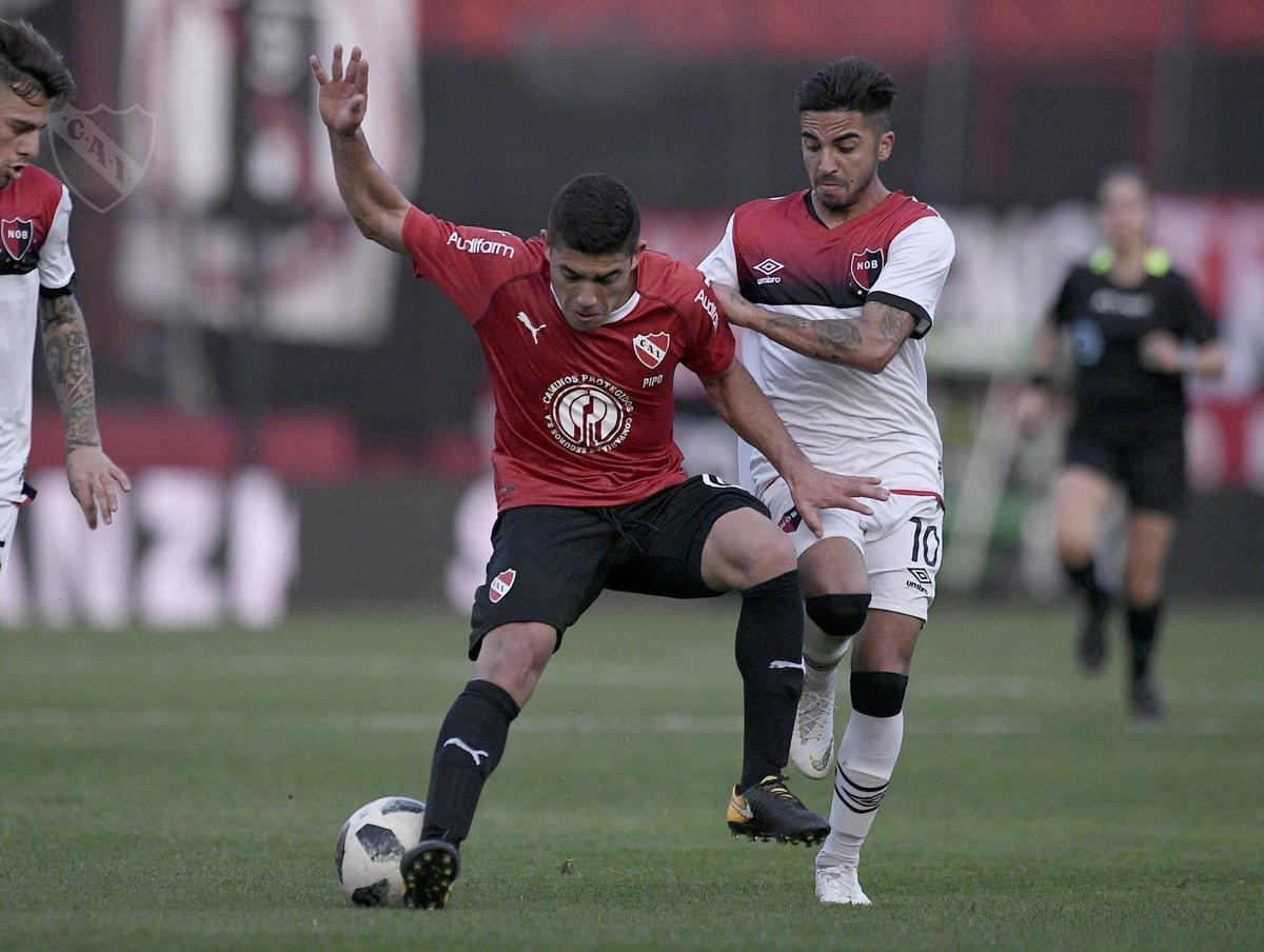 Derrota de la #Reserva #Independiente cayó 1-0 ante @CANOBoficial en Rosario.