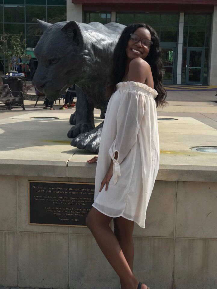 """Victoria Gloston  Junior History major  Community service coordinator co- chair """"You may not control all the events that happen to you, but you can decide not to be reduced by them."""" —Maya Angelou <br>http://pic.twitter.com/mKJSuBpqXF"""