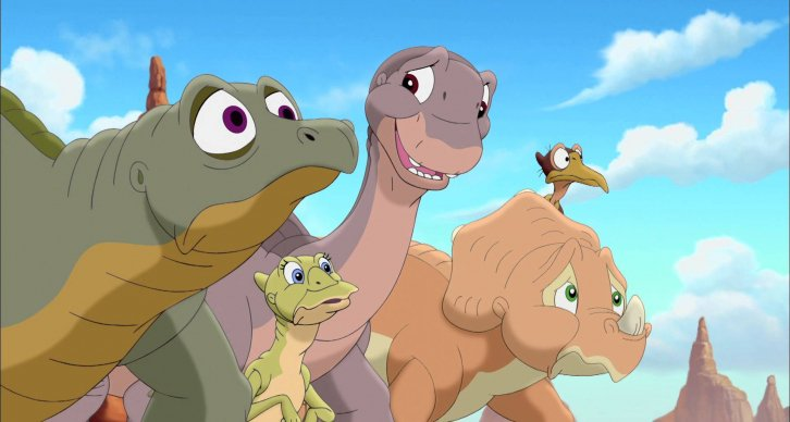 Did you know there were multiple movies for The Land Before Time? Here are all of them https://t.co/yDkGAKLSVi https://t.co/gUlUnjG0bS