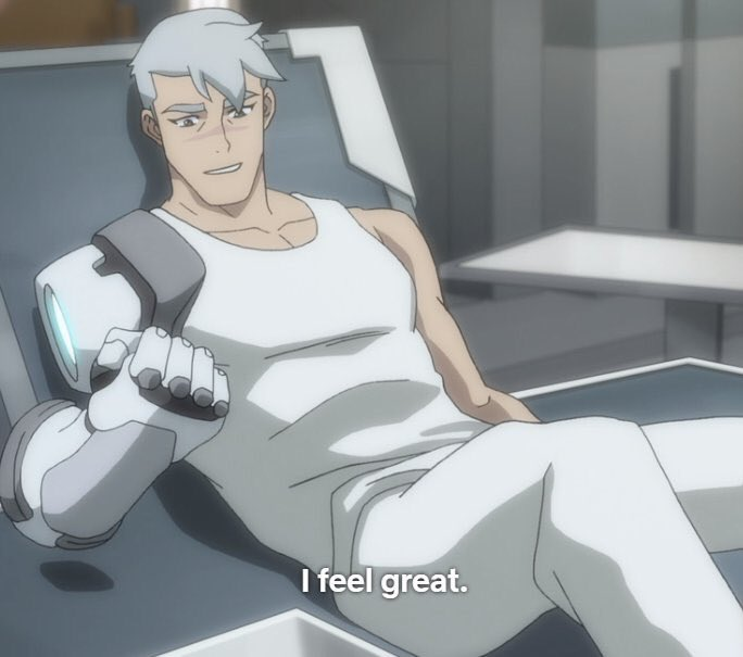 how i feel knowing that shiro, black paladin, captain of the atlas, formidable leader and survivor, canonically likes d*ck <br>http://pic.twitter.com/RM0Cebq9no