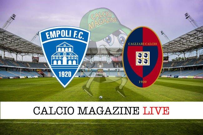 #fantacalcio Empoli – Cagliari: tabellino in diretta, risultato in tempo reale #calcio https://ift.tt/2MWXOqk  - Ukustom