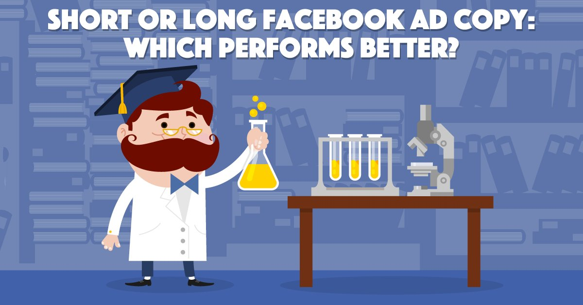 Facebook Ad copy length: Short or long, which is best? ow.ly/P0UP30lp6cA A $1,000 experiment via @AdEspresso
