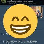 CASANOVA EN LOS BILLBOARD Twitter Photo