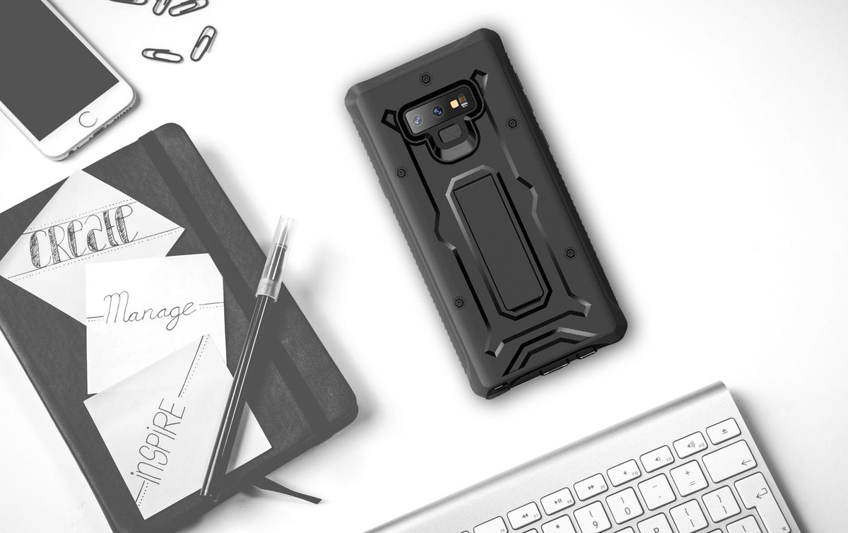 #AmazonGiveaway  RT&amp;Follow to win one free! Super duty #galaxynote9 cases made for productivity! | Vanguard Series  http://www. ArmadilloTek.com  &nbsp;  <br>http://pic.twitter.com/9ZDIvotDBZ