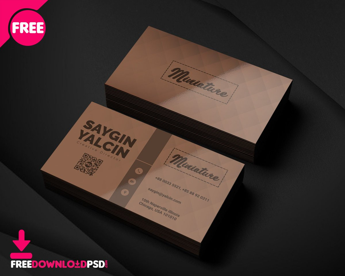 Free Download Psd On Twitter Creative Director Business