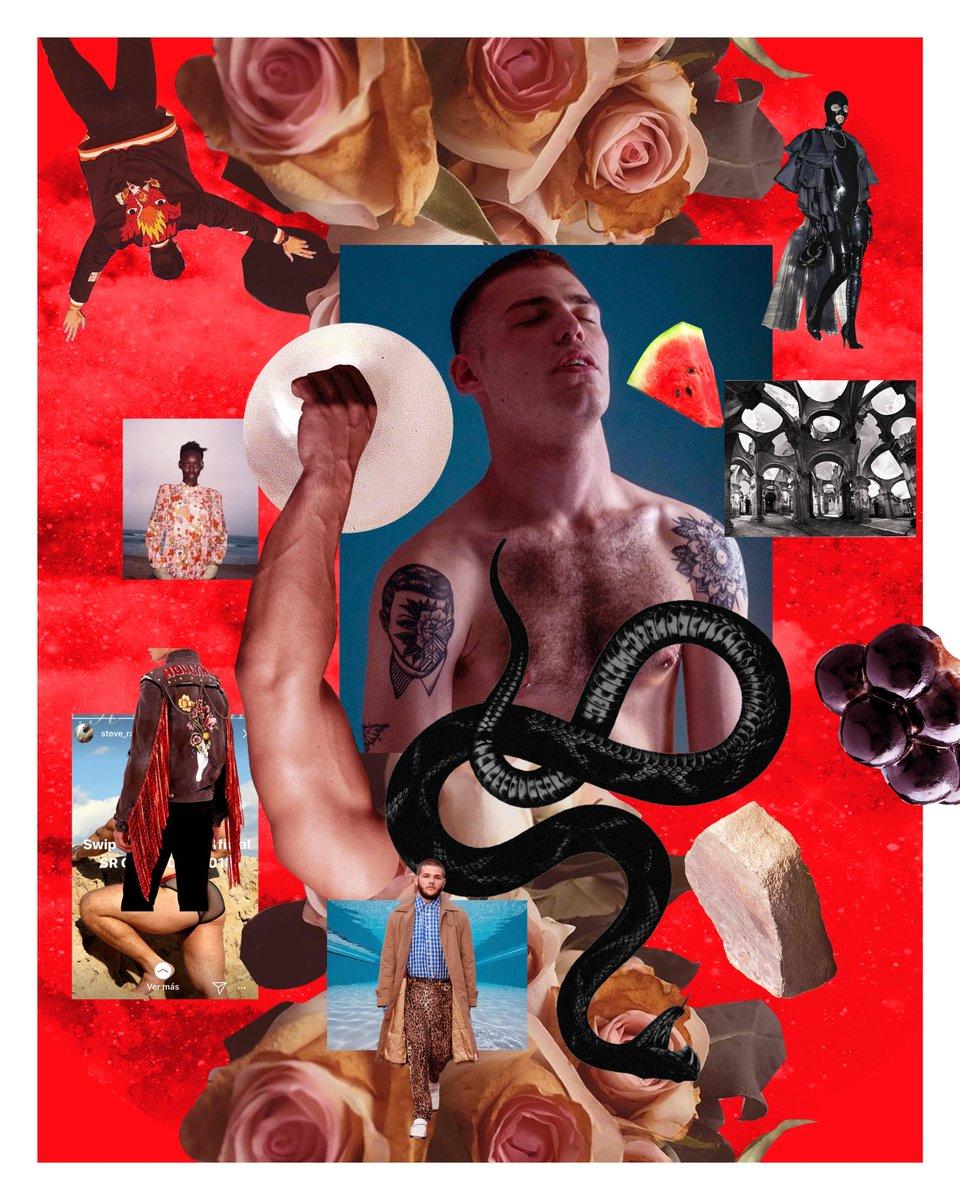 #collage #queerart #bear #hairy #daddy #noir #theeye #beard #tattoo #floral  #gay #collageartwork #art #gayart #gucci #bottompic.twitter.com/XUSJuUEyyr