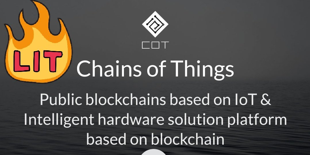 Chinese project @ChainsofThings $COT to be built on #Ontology $ONT $ONG  http:// cot.io  &nbsp;   (Look out for #airdrop for ont holders.) <br>http://pic.twitter.com/ucWXdvdcB0