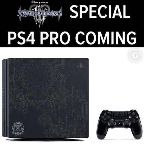 Kingdom Hearts 3 PS4 Pro Special Edition is coming soon and it's beautiful �� https://t.co/qR8W4bn2B7 https://t.co/J7W6fzg849