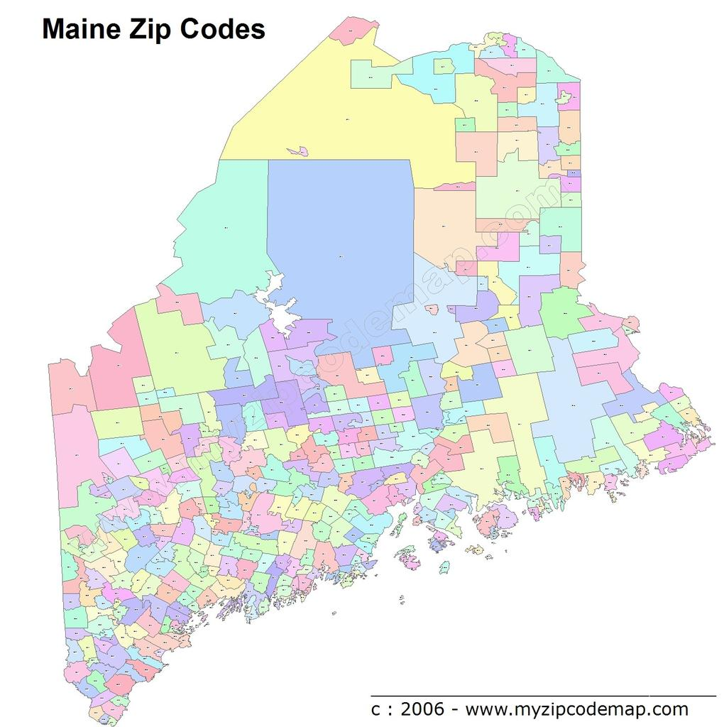 zip code map of maine All Places Map On Twitter List Of All Zip Codes For The State Of zip code map of maine