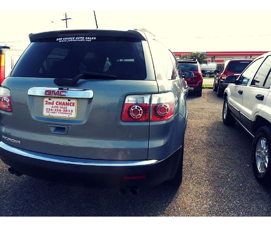 2nd Chance Auto Sales >> 2nd Chance Auto Sale On Twitter Gmc Acadia A Reliable