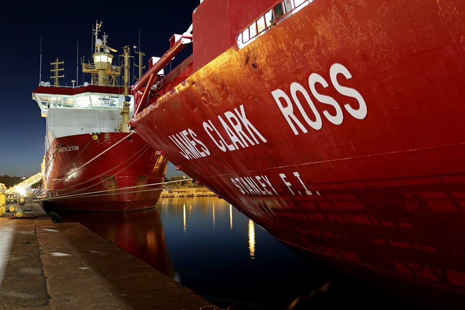 Antarctic Reds, a photo by Richard Turner the Purser on the RRS James Clark Ross. More of his images can be seen on FaceBook at facebook.com/Richard-Turner… or at richardturnerphotographs.co.uk @BAS_News