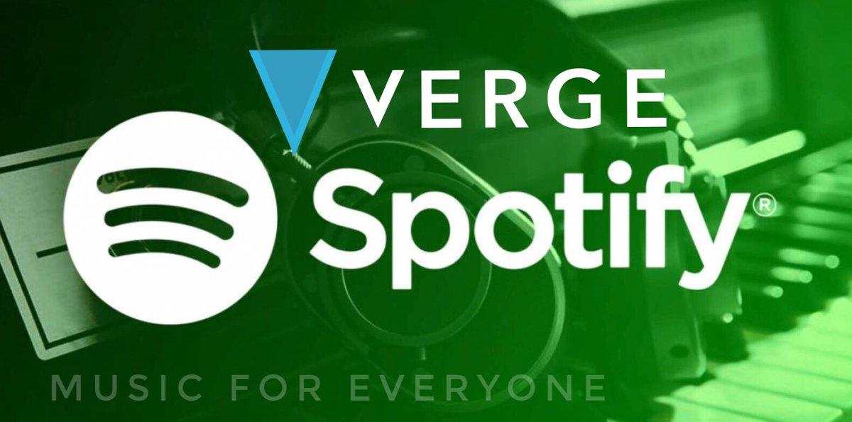 Salve @Spotify, siete alla ricerca di una forma di pagamento privata, sicura e anonima? #Verge # XVG è una criptomoneta veloce e con basso tasso di scambio.Benvenuti nella #musica del  #futurohttp://Spotify.com https://t.co/yUS50KRv42  - Ukustom