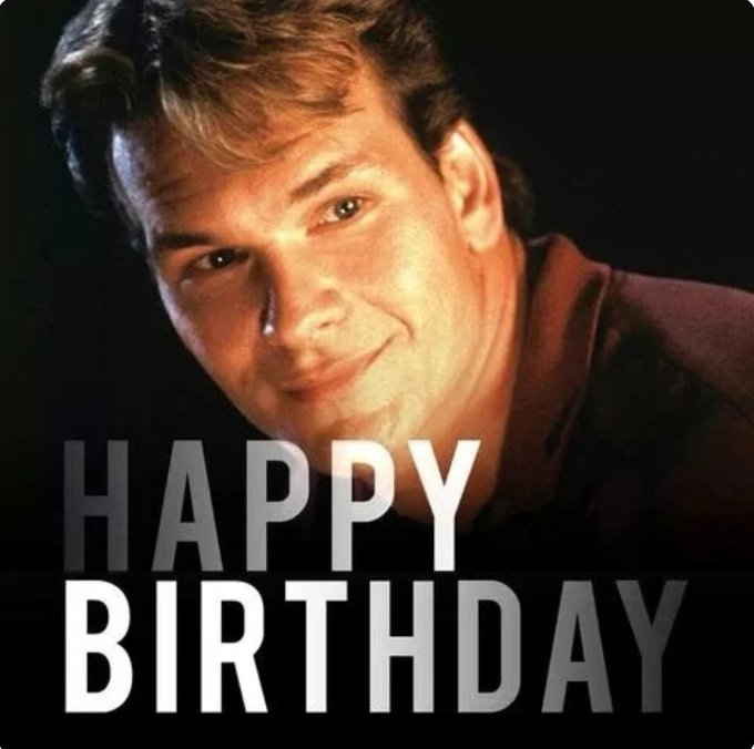 Happy birthday to our original Sam Wheat, Patrick Swayze who would have been 66 today. RIP