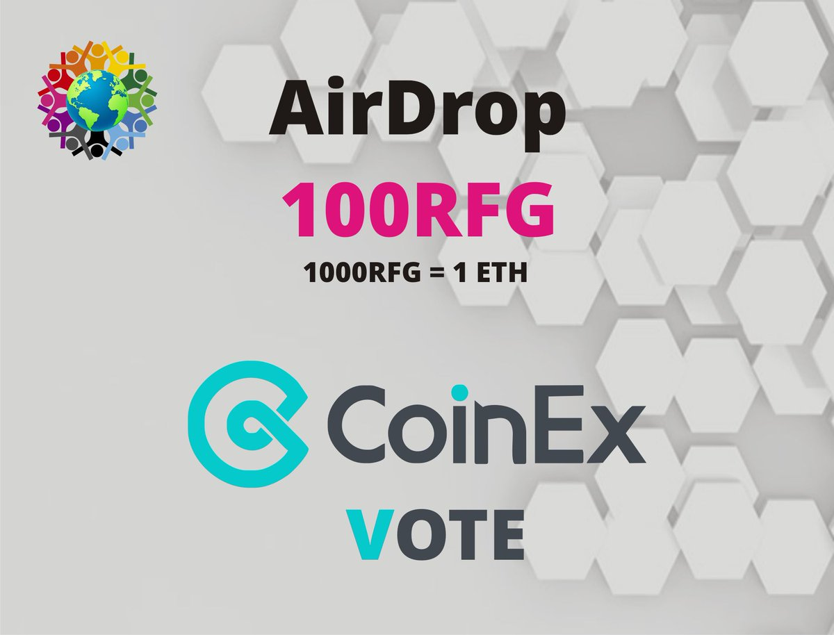 VOTE COINEX EXCHANGE LISTING    1. Visit Voting Page:  https://www. coinex.com/vote/project?i d=532 &nbsp; …  … … …   2. Fill Airdrop Form:  https:// goo.gl/E5KWdt  &nbsp;     #Airdrops #investors #airdrop #cryptocurrency #coinex #bounty #blockchain #Coinmarketcap #airdropalert<br>http://pic.twitter.com/pJrlL8tLiB